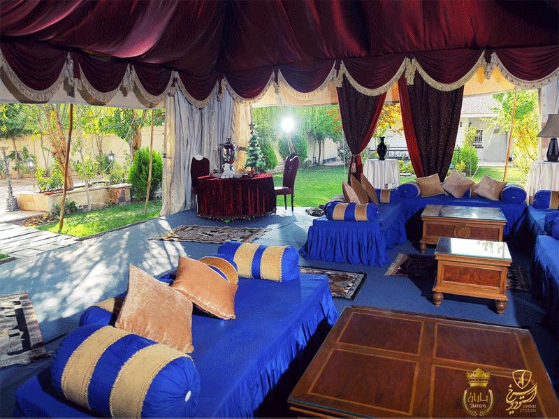 تالار و باغسرای لوکس باران مشهد