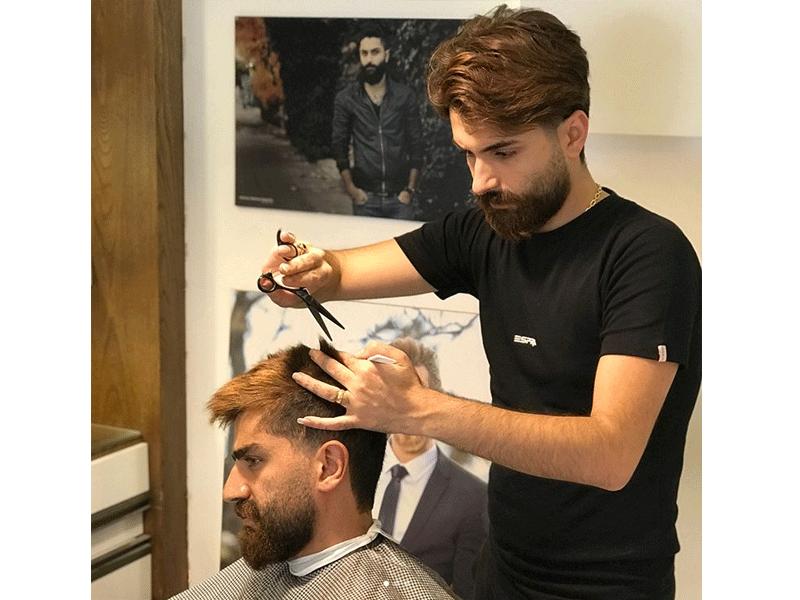 آرایشگاه مردانه زاوا در مشهد